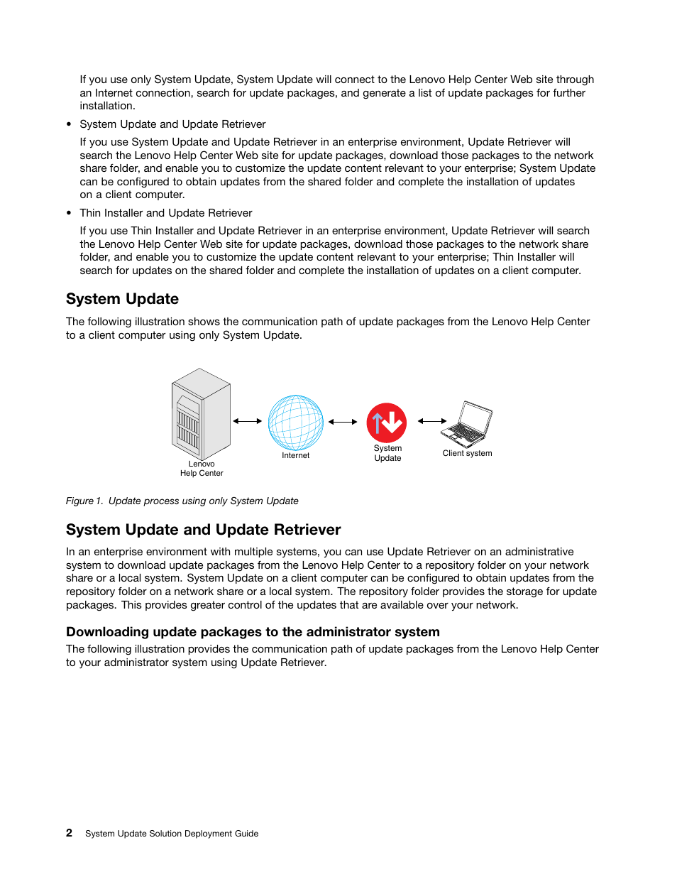 System update, System update and update retriever   Lenovo