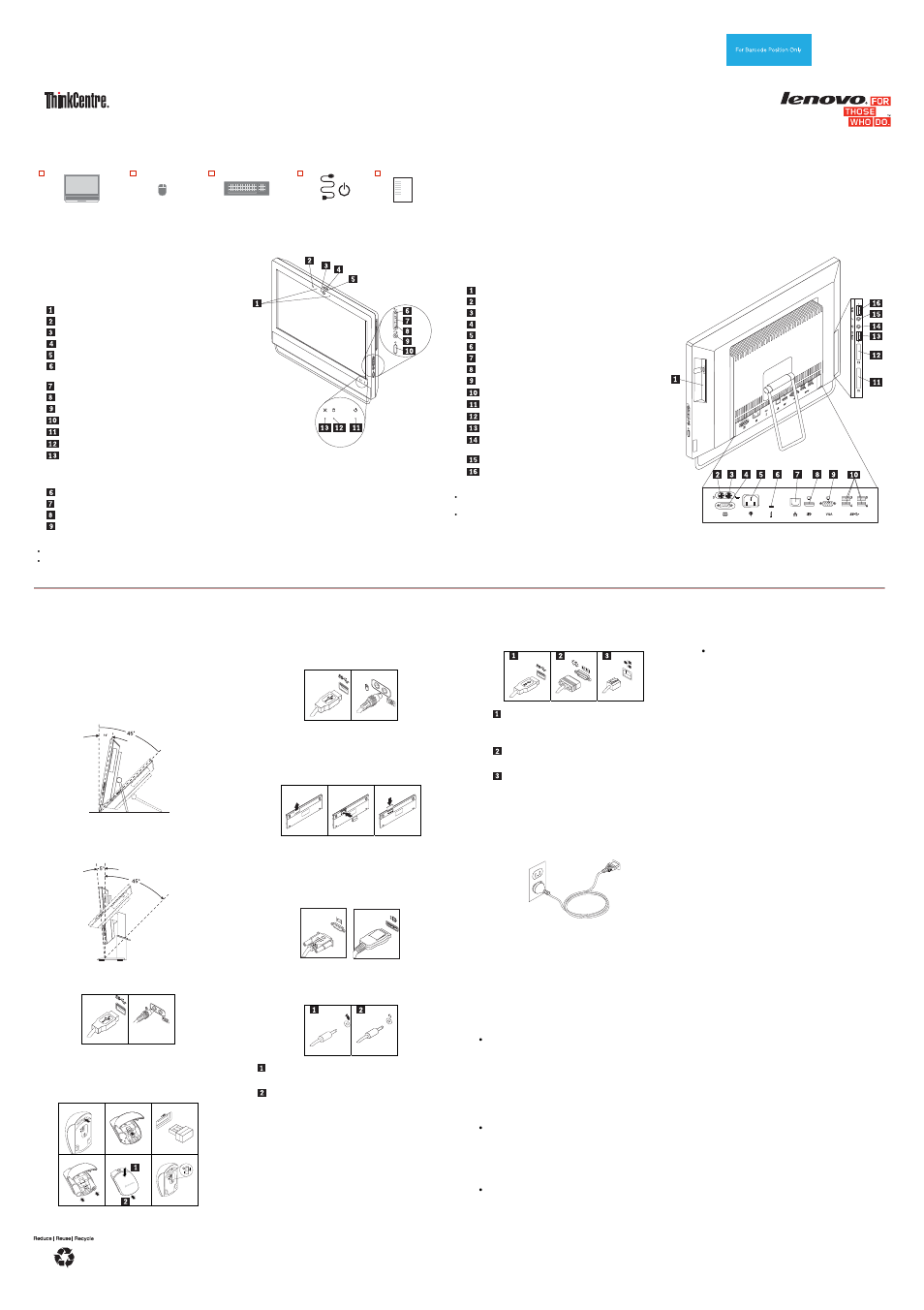 lenovo thinkcentre m93z user manual