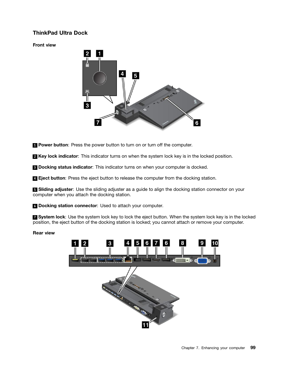Thinkpad ultra dock | Lenovo ThinkPad T540p User Manual