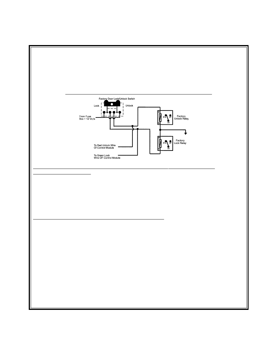 5 Pole Relay Wiring Diagram Door Lock - Catalogue of Schemas  Pole Relay Wiring Diagram Door Lock on
