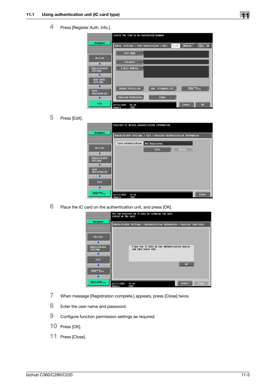 konica minolta bizhub c360 user manual page 238 285 original rh manualsdir com Konica Minolta Bizhub C360 Manual konica c280 user manual