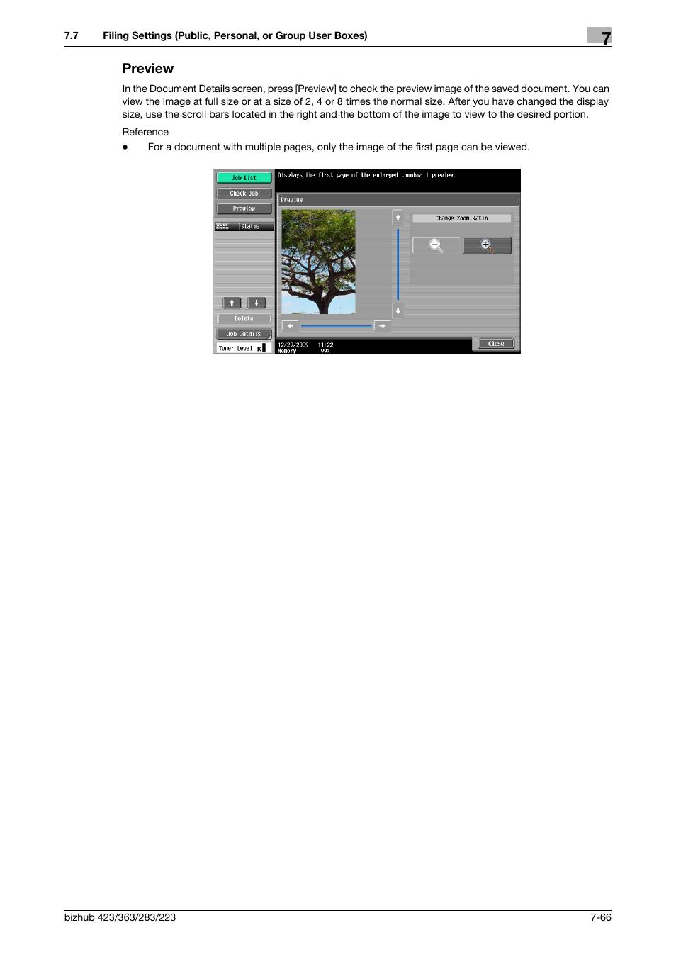 preview preview 66 review p 7 66 konica minolta bizhub 223 rh manualsdir com konica minolta bizhub 363 user manual scan konica minolta bizhub 363 user guide network administrator