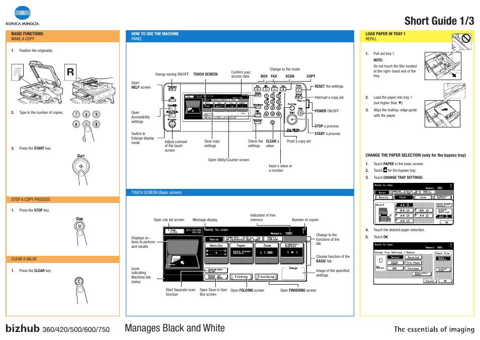 konica minolta bizhub 420 user manual 3 pages also for bizhub rh manualsdir com Konica Minolta Bizhub C308 konica minolta bizhub 420 user manual