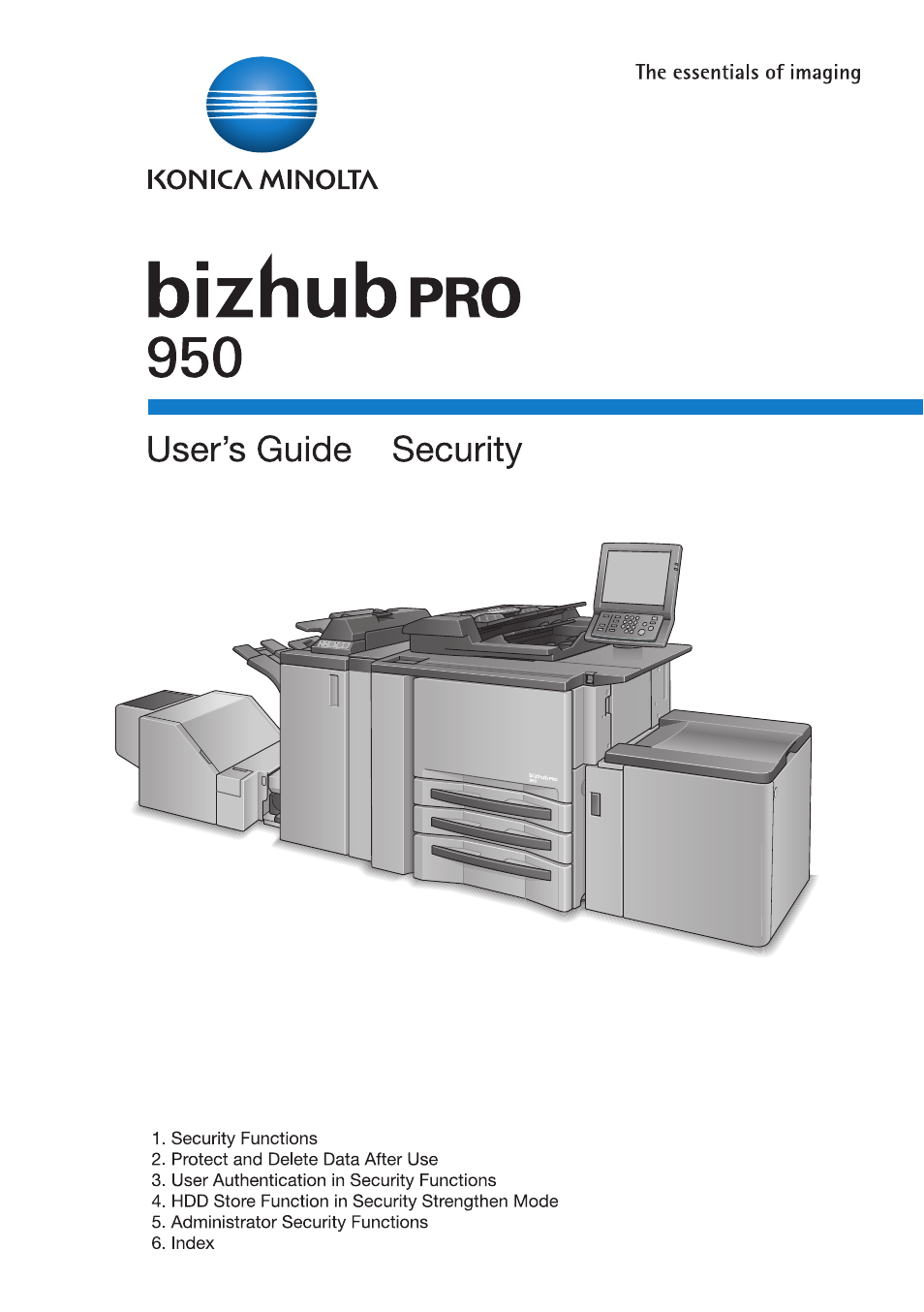 konica minolta bizhub pro 950 user manual 82 pages rh manualsdir com konica minolta bizhub pro 950 service manual Konica Minolta Bizhub Pro C6500