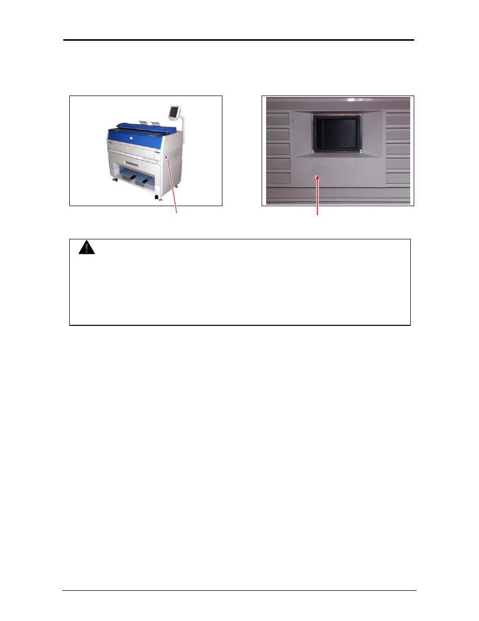 caution konica minolta kip 3100 user manual page 24 56 rh manualsdir com kip 3100 service manual pdf kip 3100 printer manual