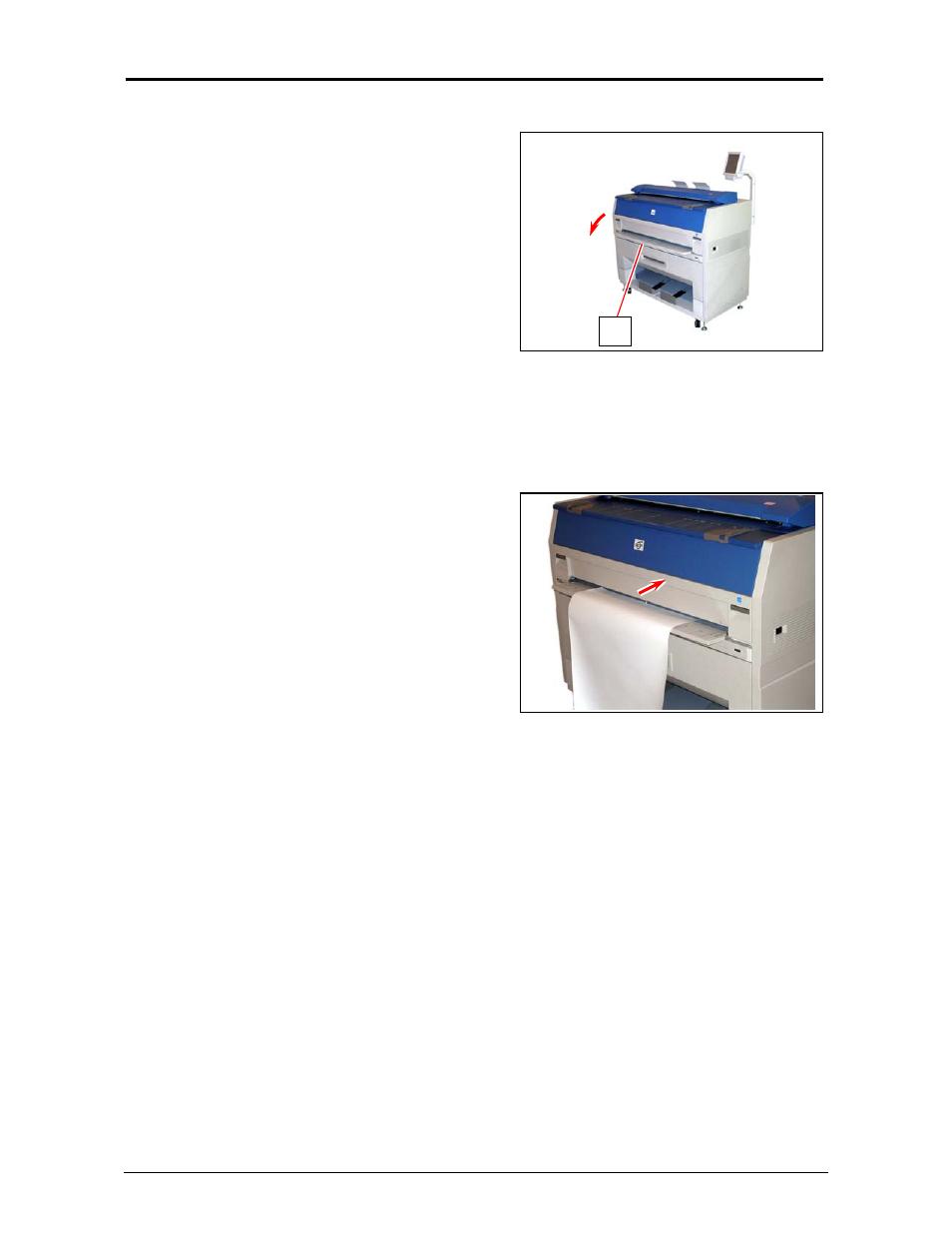 5 cut sheet media placement konica minolta kip 3100 user manual rh manualsdir com