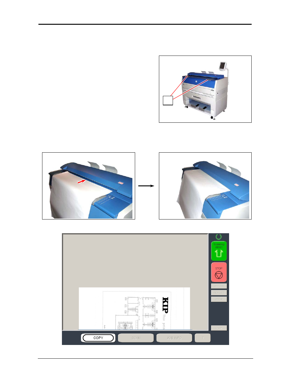6 copying konica minolta kip 3100 user manual page 35 56 rh manualsdir com konica minolta kip 3100 user manual Install KIP 3100