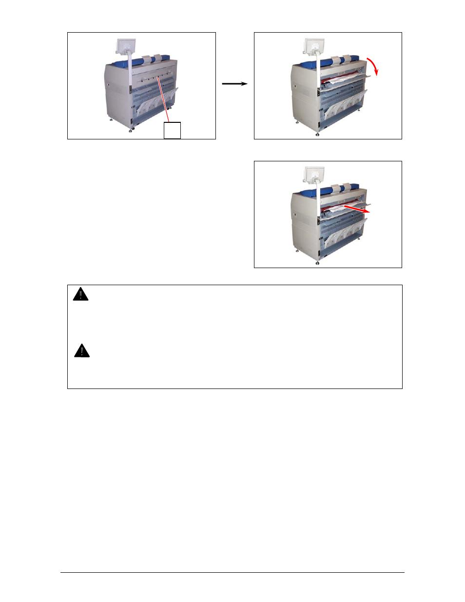 warning konica minolta kip 3100 user manual page 46 56 rh manualsdir com kip 3100 service manual kip 3100 parts manual