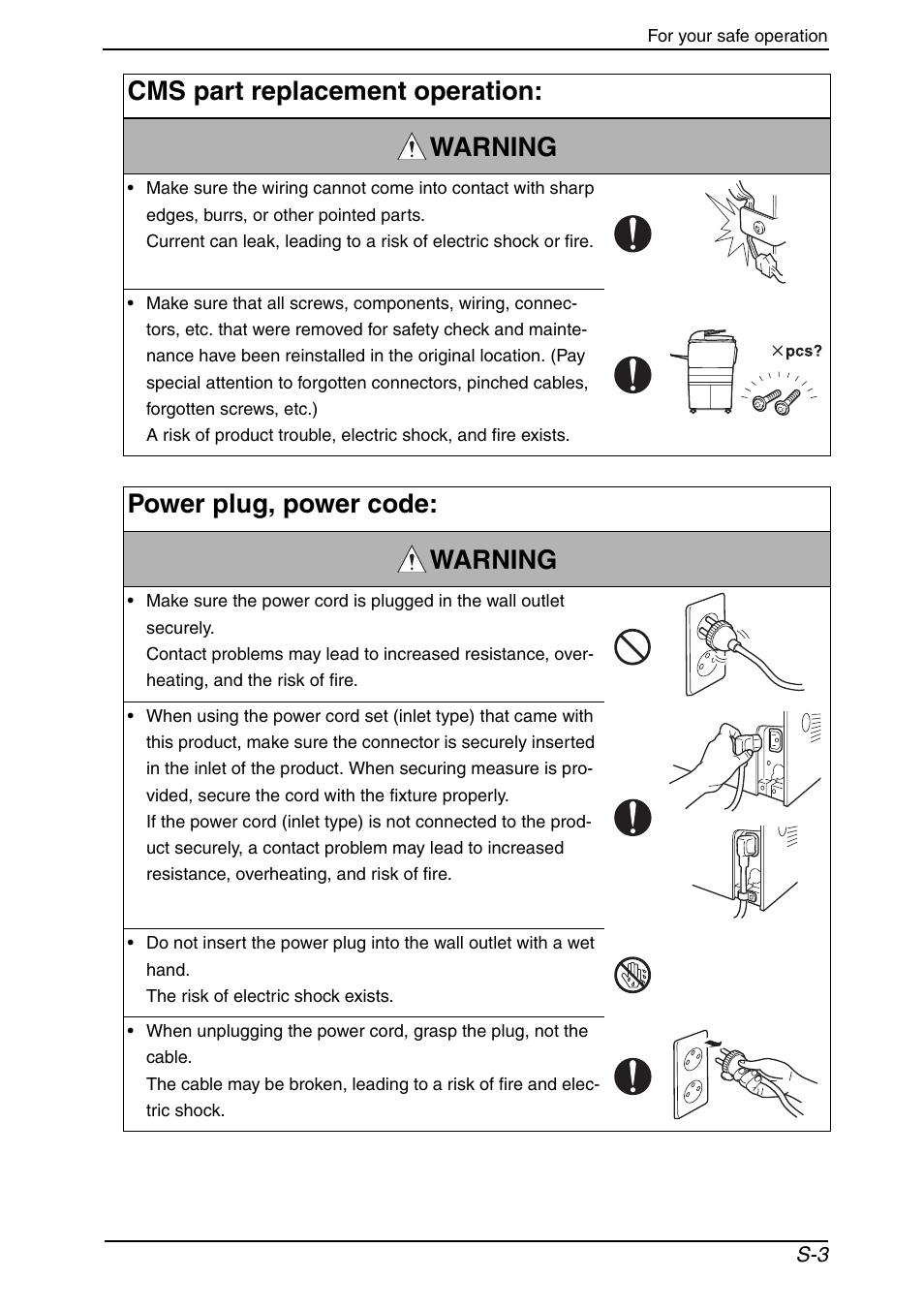 Konica Minolta bizhub C650 User Manual | Page 6 / 37 | Also for: bizhub  C451, bizhub C550