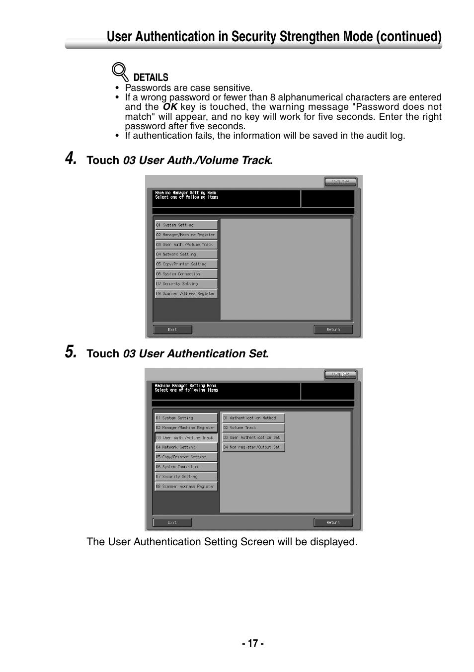 Konica Minolta BIZHUB PRO 1050 User Manual   Page 25 / 64