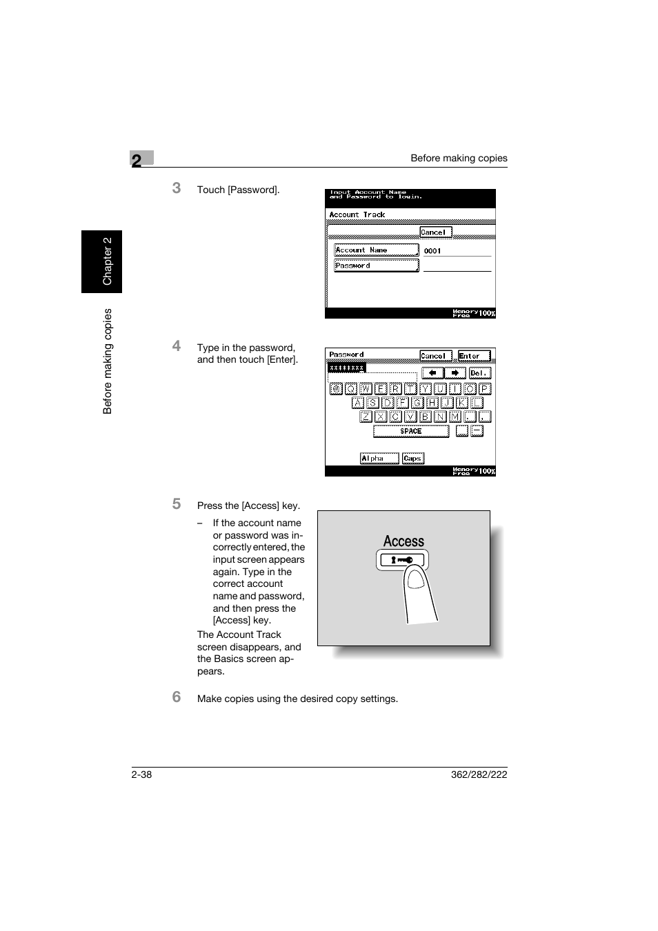 access konica minolta bizhub 282 user manual page 87 424 rh manualsdir com bizhub 283 manual Bizhub 362 Drivers