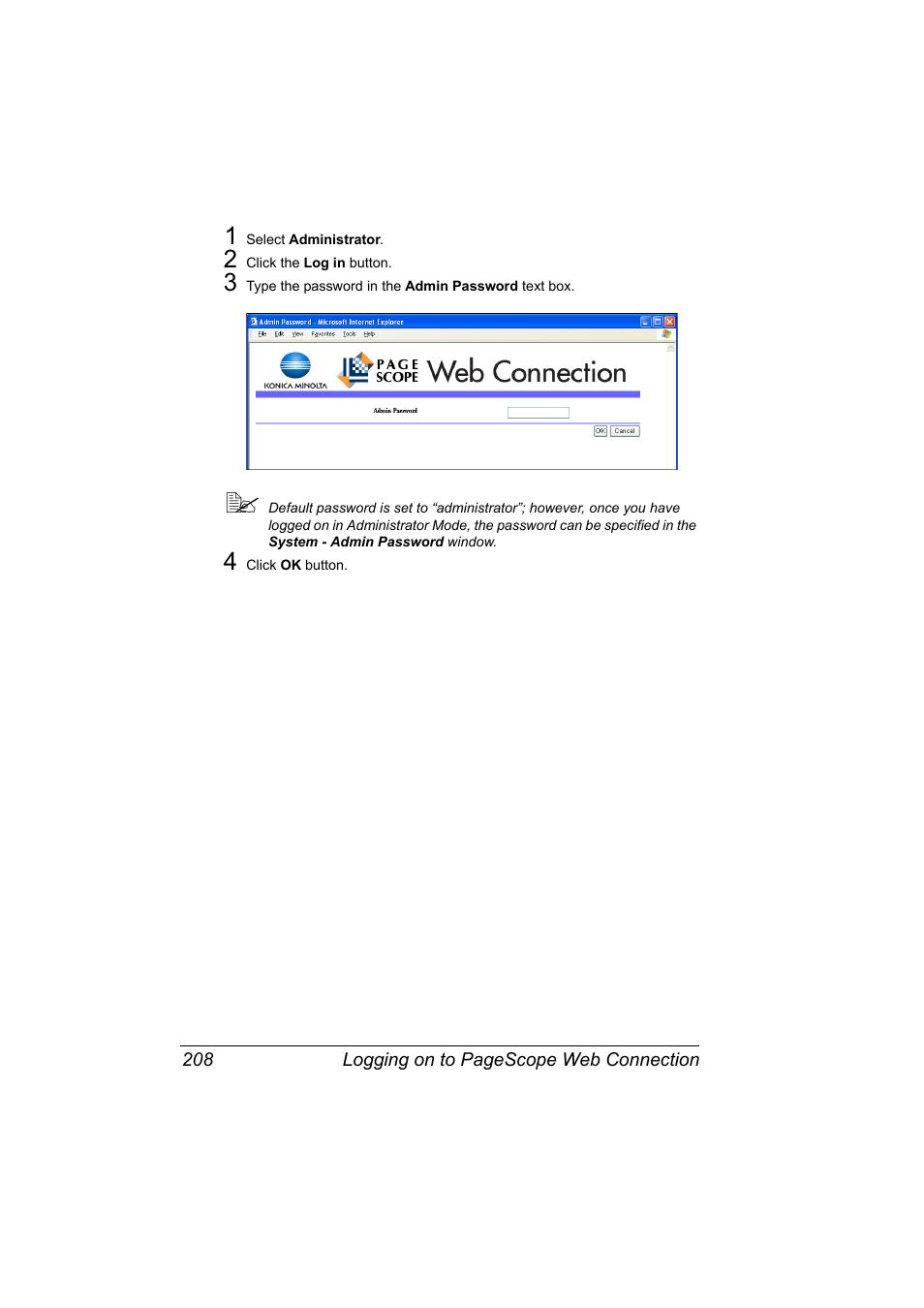 Konica Minolta bizhub 40P User Manual   Page 226 / 392   Also for: bizhub  40PX