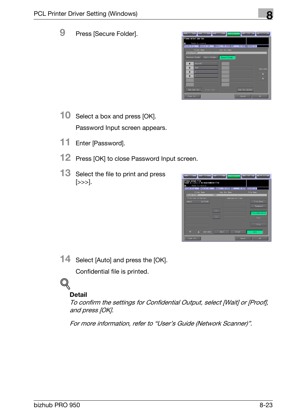konica minolta bizhub pro 950 user manual page 140 320 rh manualsdir com Konica  Minolta Bizhub Pro C6501 Konica Minolta Bizhub Pro 951 On ...