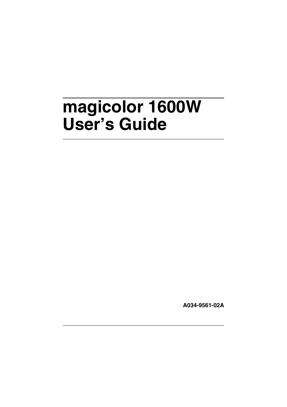 konica minolta magicolor 1600w driver windows 8.1