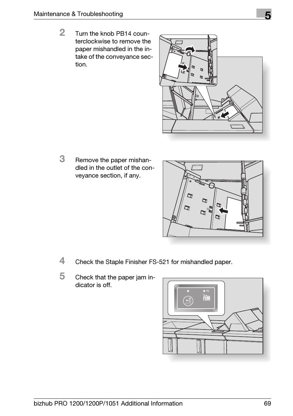 Konica Minolta bizhub PRO 1200 User Manual   Page 73 / 80