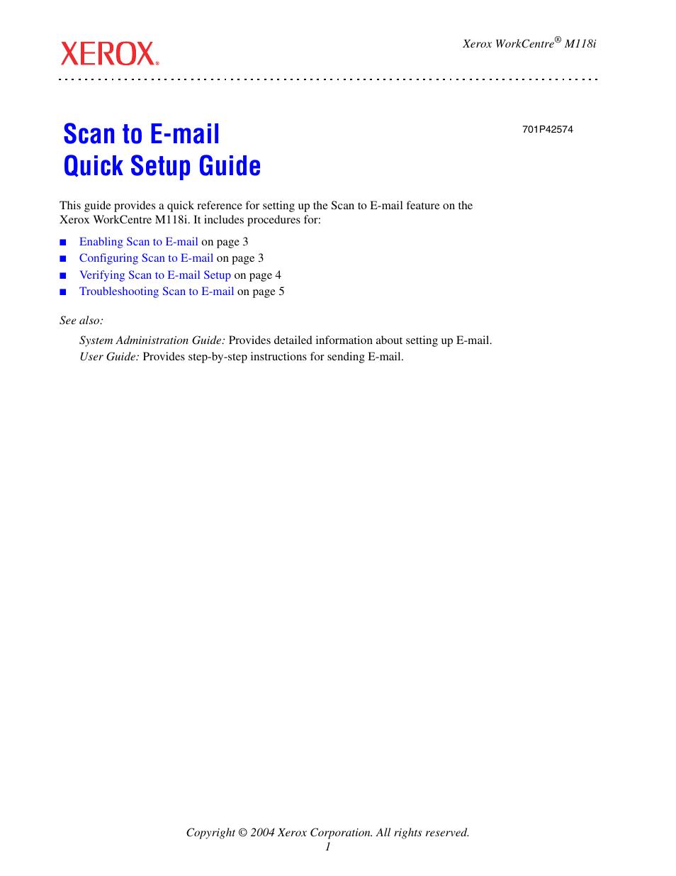 Xerox workcentre m118 manual.