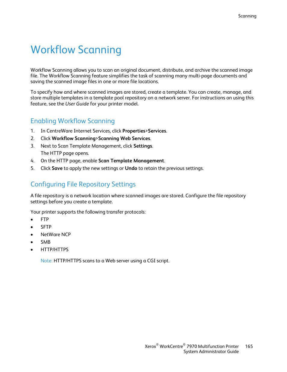 Workflow scanning, Enabling workflow scanning, Configuring file