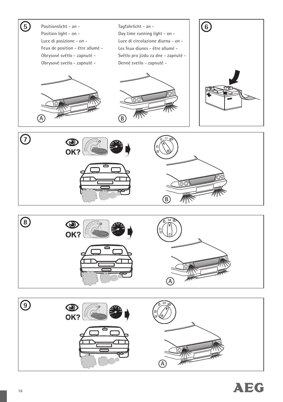 No Running Lights Manual Guide