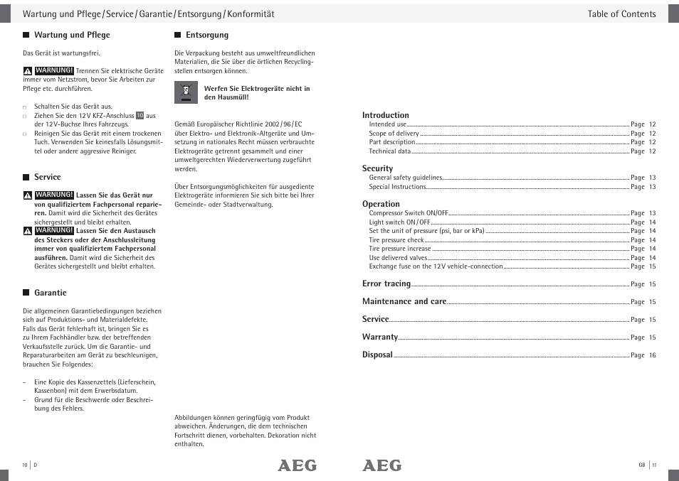 Aeg Compressor Kd 7 0 User Manual Page 7 23 Original Mode