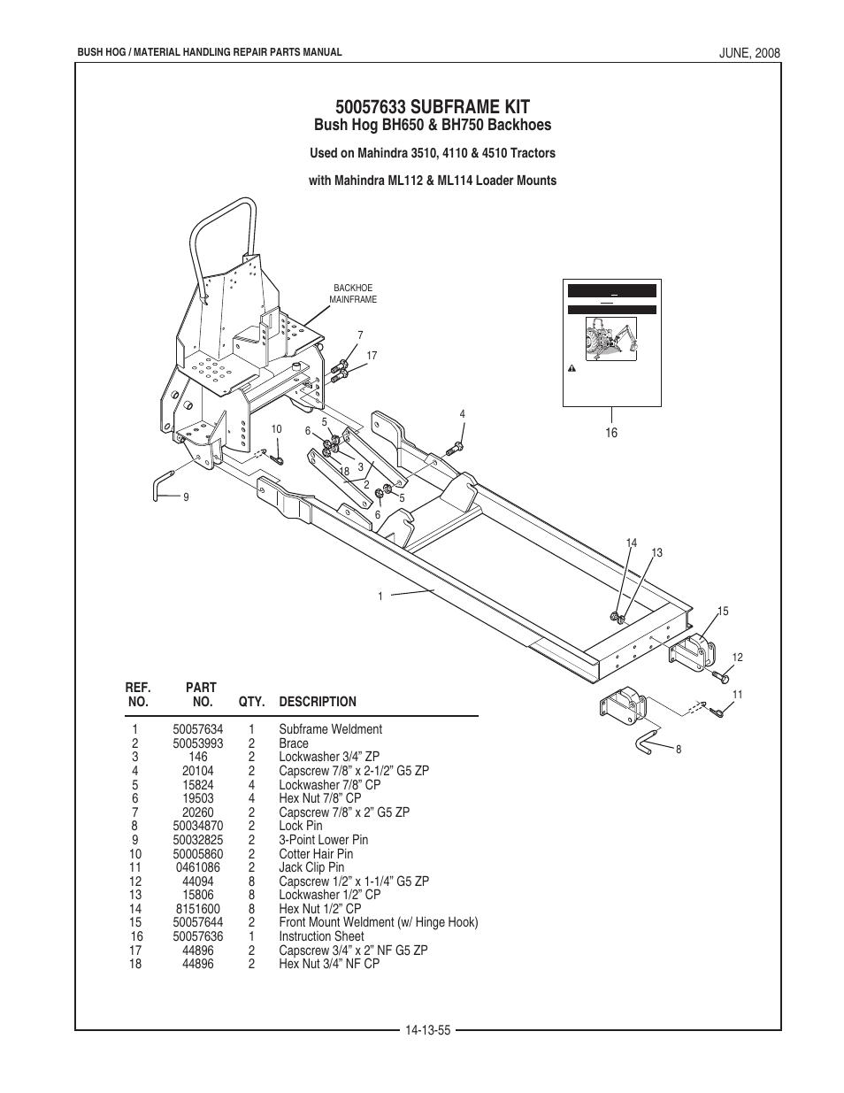 Bush Hog Schematics | Repair Manual Mahindra Wiring Diagram on