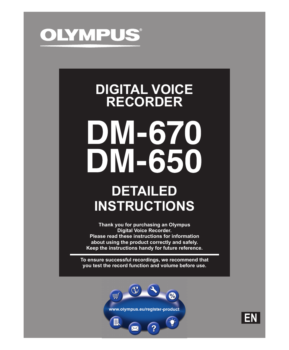 olympus tape recorder manual