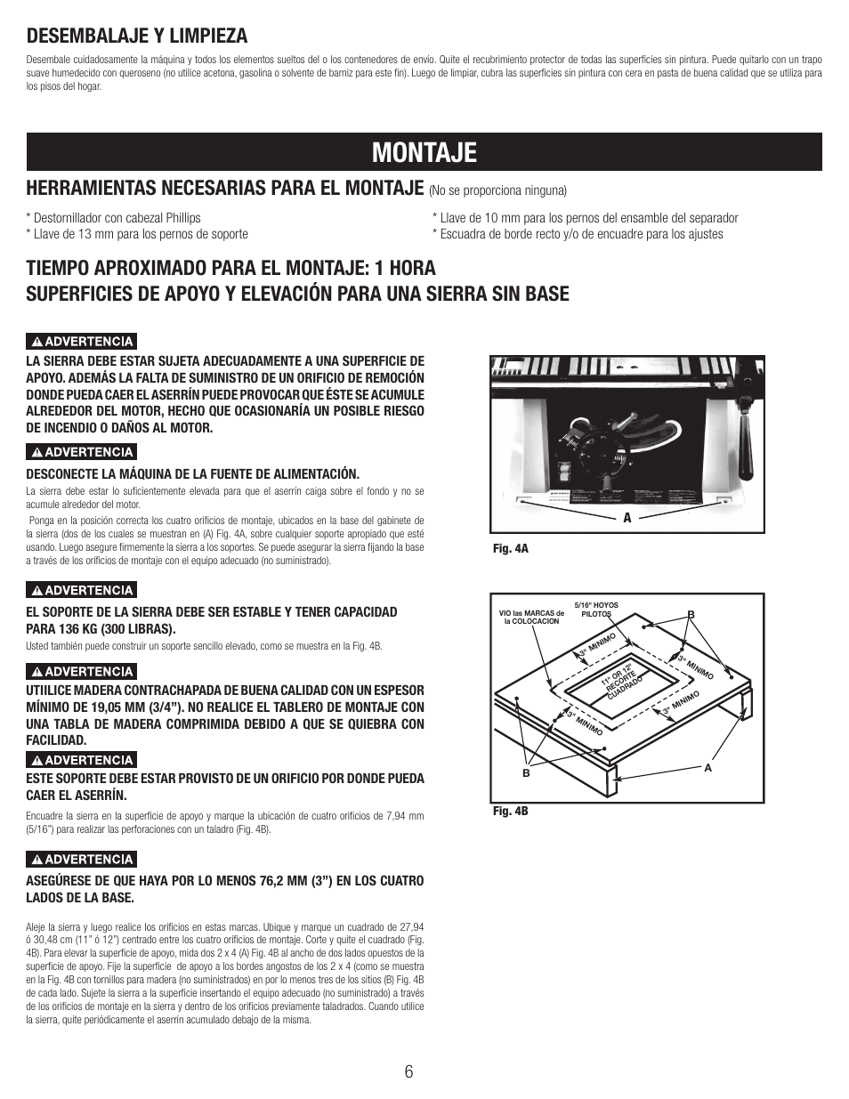 Montaje, No se proporciona ninguna) | Black & Decker BT1800 User ...