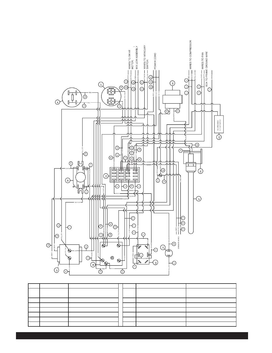 beverage air grindmaster 3311 page28 model 3311 wiring diagram water cooled model beverage air Beverage Air Electrical Schematic at mr168.co