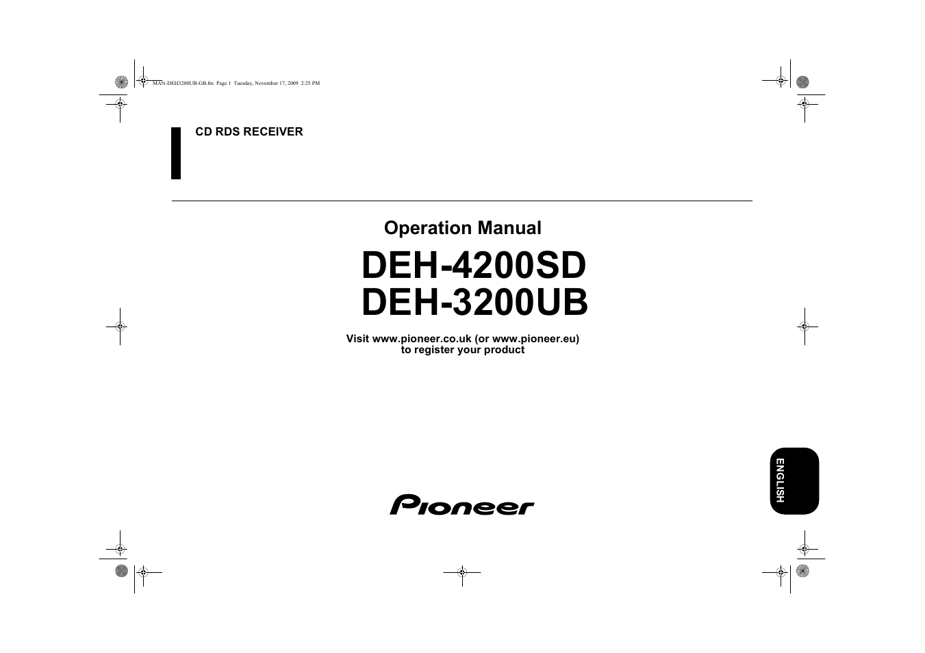 pioneer deh 3200 wiring diagram wiring diagram libraries pioneer deh 3200ub user manual 28 pages also for deh 4200sdpioneer deh 3200 wiring diagram