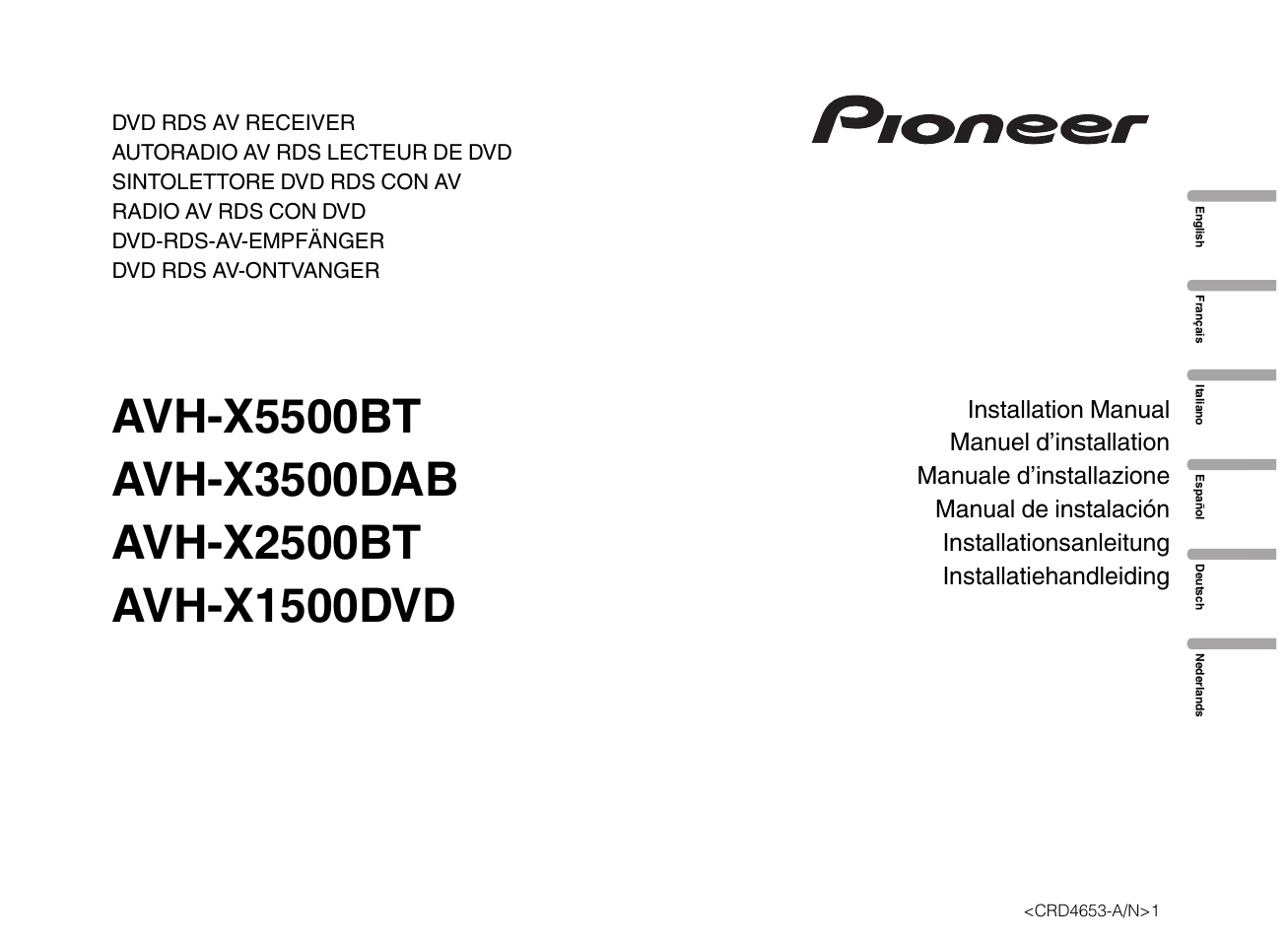 Pioneer Avh X1500Dvd Wiring Diagram from www.manualsdir.com