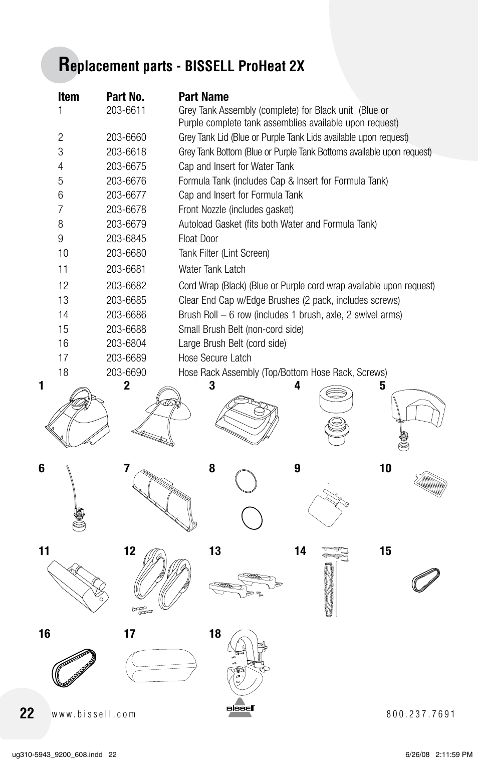 Bissell Proheat Parts Diagram Manual Guide