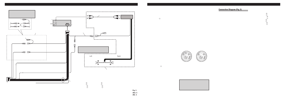 pioneer deh 1400r page3 connecting the units, connecting the units \u003cenglish, connection pioneer deh 1400 wiring diagram at bayanpartner.co
