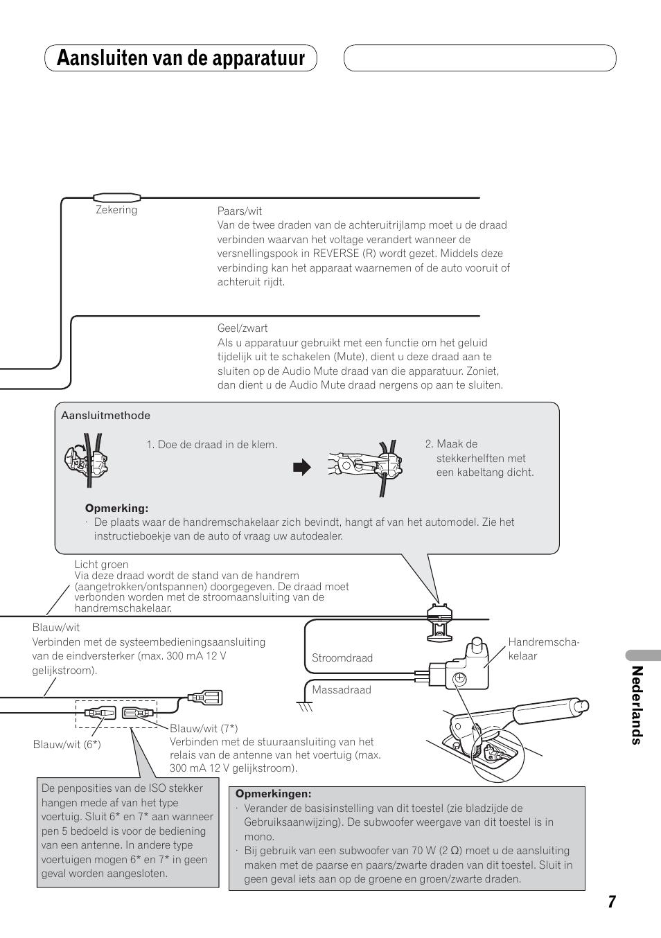 aansluiten van de apparatuur nederlands pioneer avh p4100dvd user rh manualsdir com pioneer avh-p4100dvd manual pdf pioneer avh-p4100dvd manual