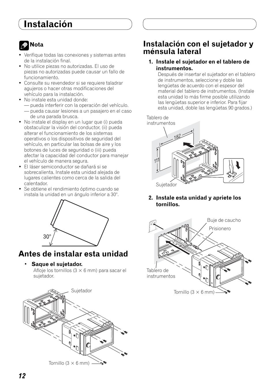 Pioneer Avh P4000dvd Manual De Instalacion 3100 Wiring Diagram Page 4