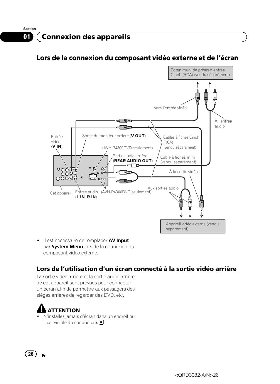 Pioneer Avh P4300Dvd Wiring Diagram from www.manualsdir.com