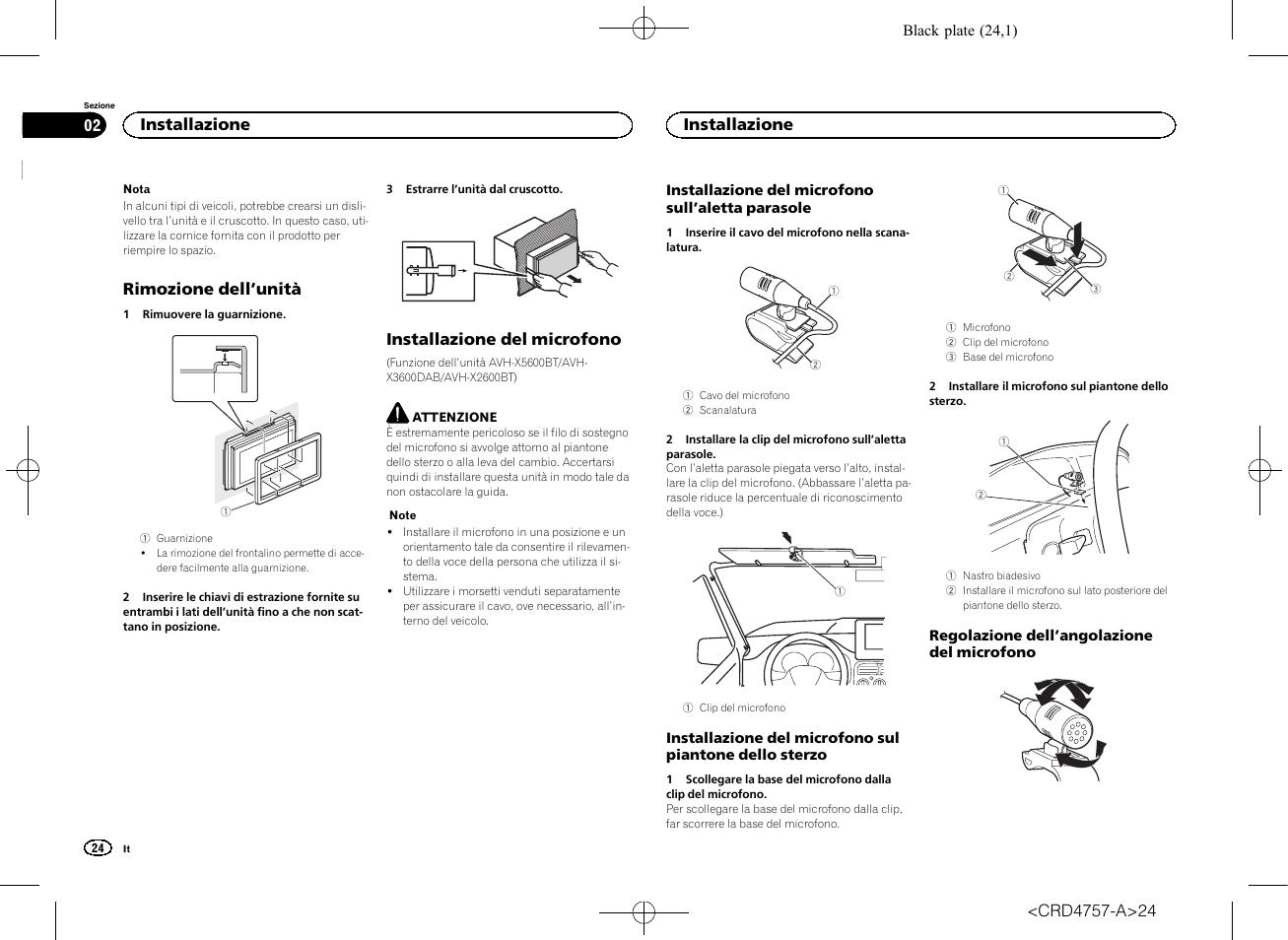 Pioneer Avh X5600bt User Manual Page 24 52 Original