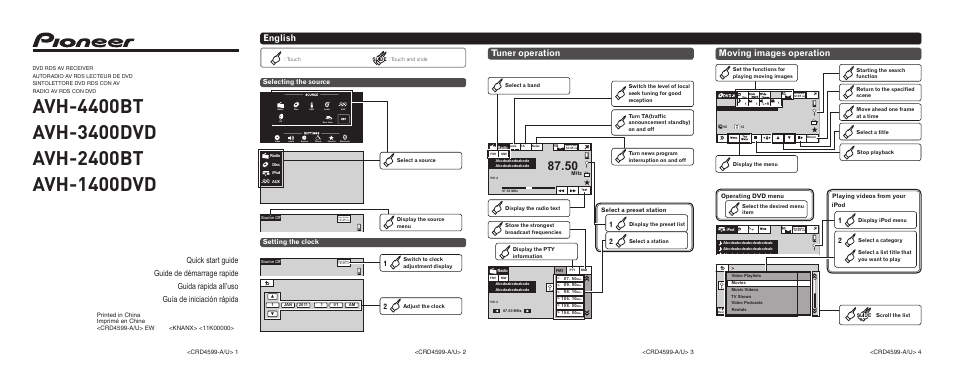 wiring diagram for pioneer avh p2400bt