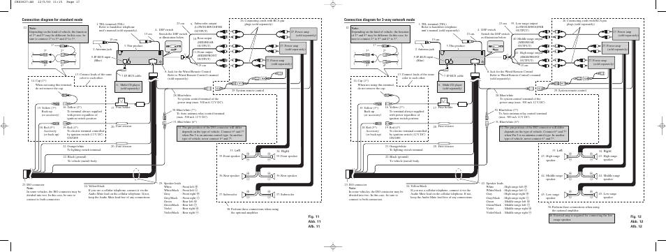 [SCHEMATICS_4LK]  Pioneer DEH-P8600MP User Manual | Page 5 / 8 | Wiring Diagram Pioneer Deh P8600mp |  | Manuals Directory