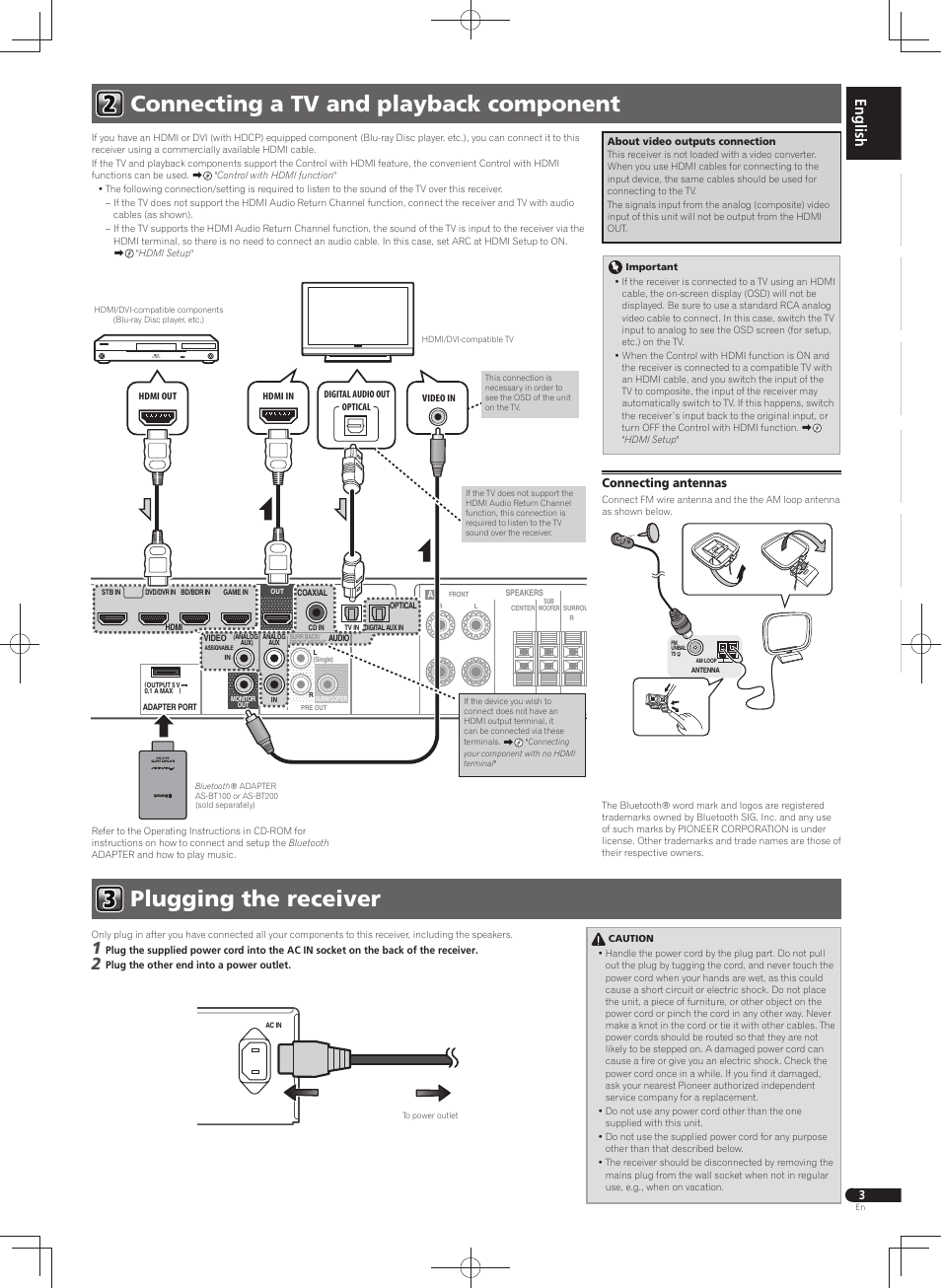 Pioneer Vsx S300 User Manual Page 3 32 Original Mode Also Bluetooth Dongle Wiring Diagram