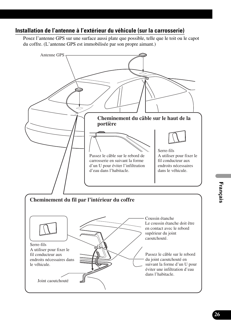 Coffre A Coussin Exterieur pioneer avic-hd3 user manual | page 117 / 181 | original