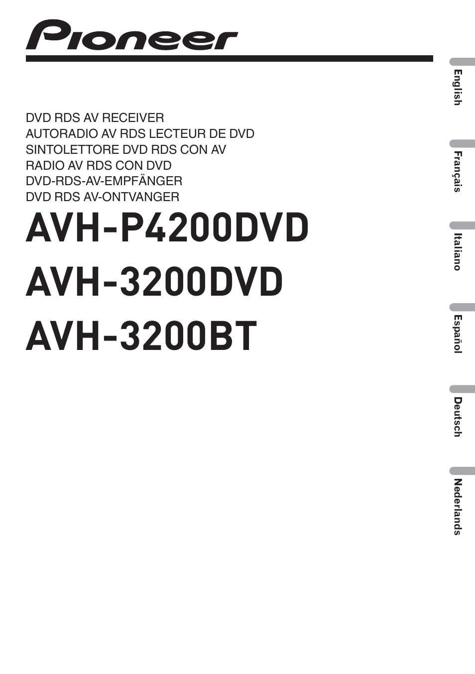 pioneer avh p4200dvd page1 wiring diagram pioneer avh p3200bt the wiring diagram AVH-P3200DVD Wiring-Diagram at honlapkeszites.co