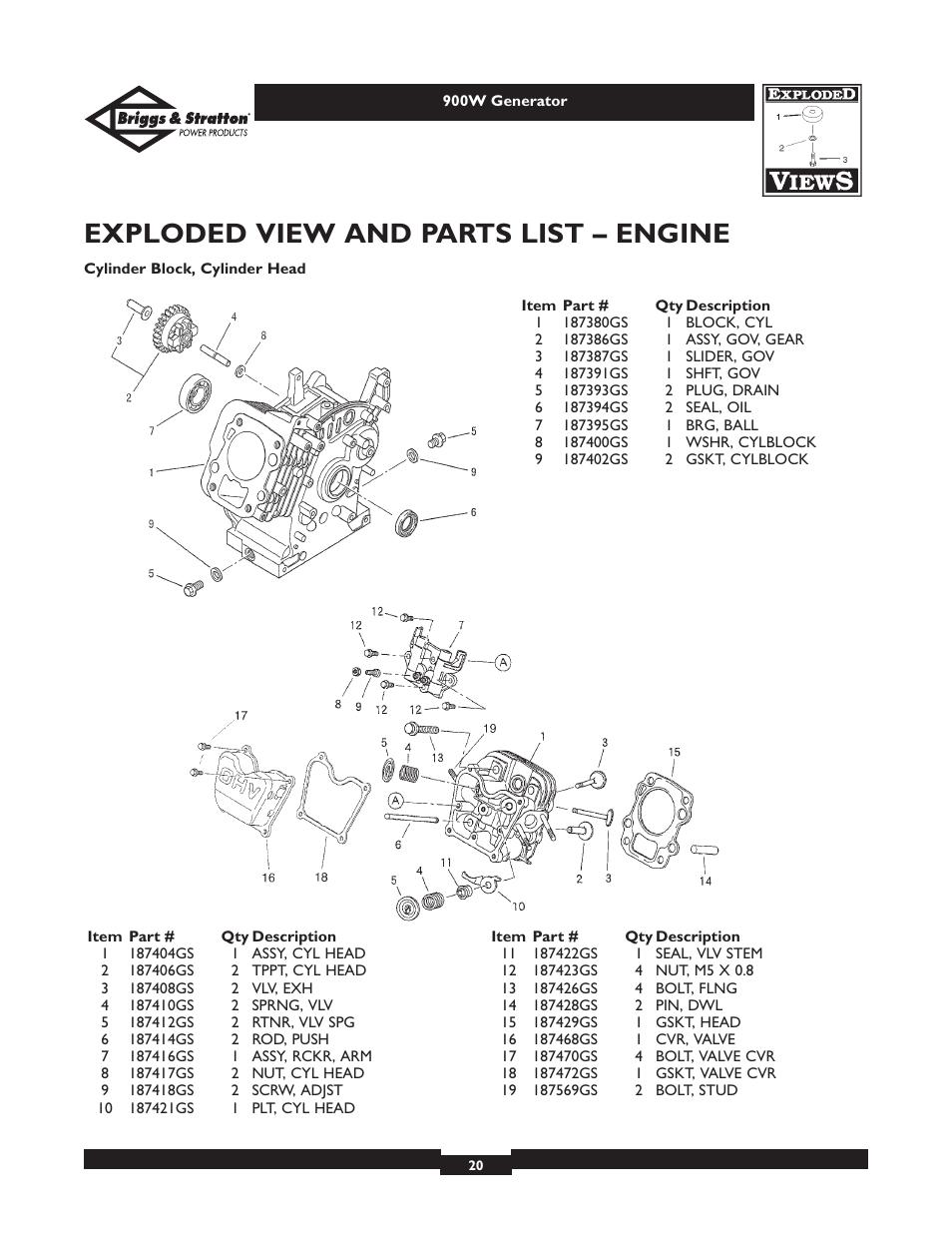 397358 Briggs Wiring Diagram