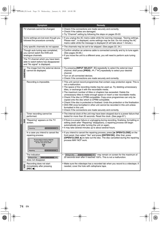 toshiba dvr20 manual