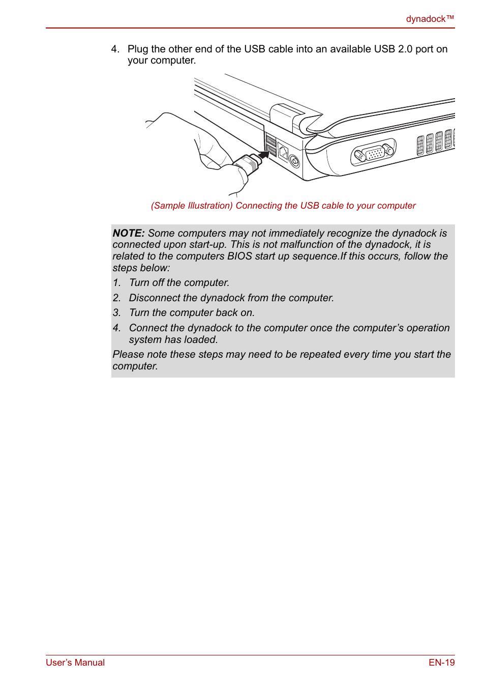 toshiba dynadock u10 user manual page 19 44 rh manualsdir com