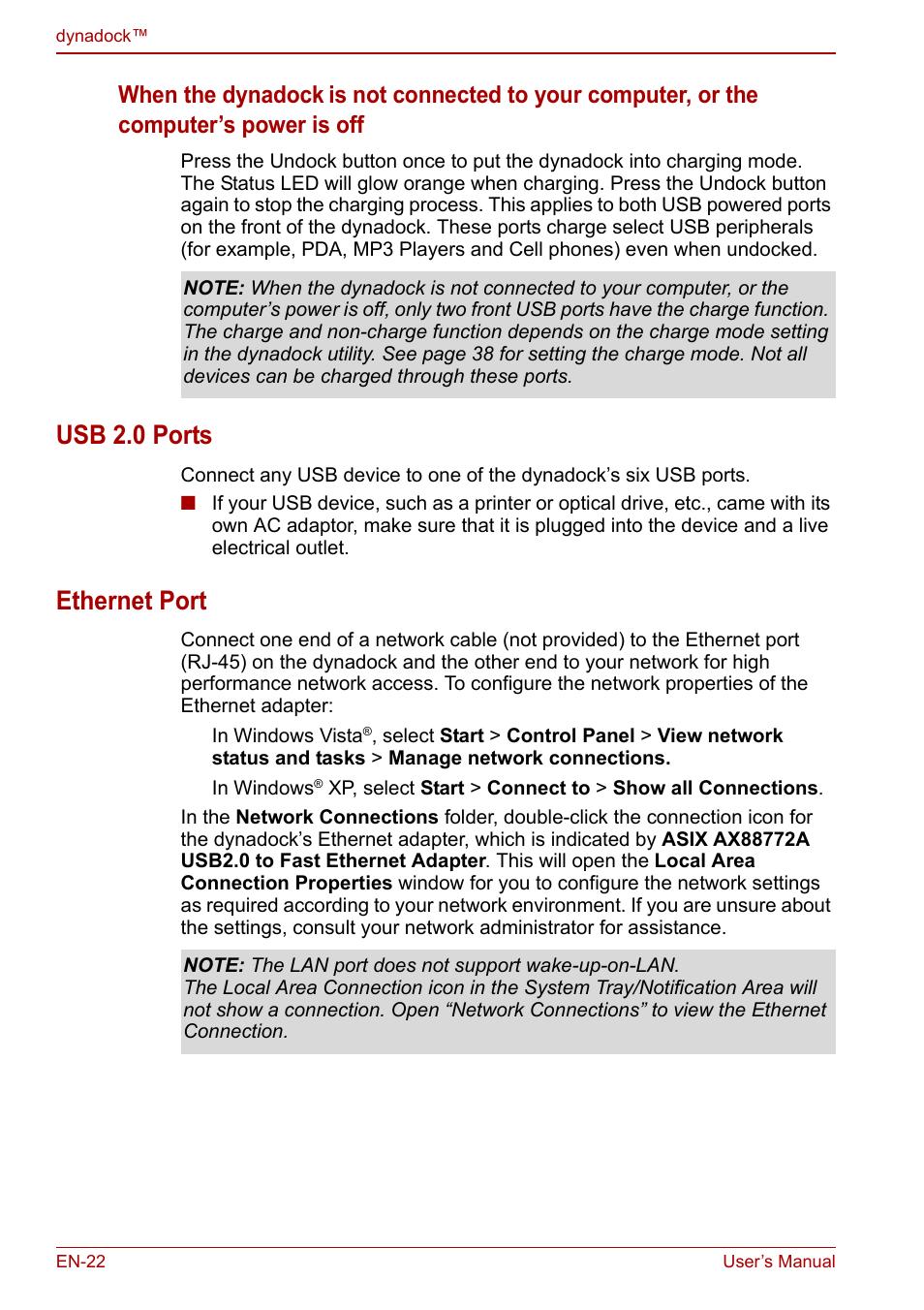usb 2 0 ports ethernet port usb 2 0 ports ethernet port toshiba rh manualsdir com