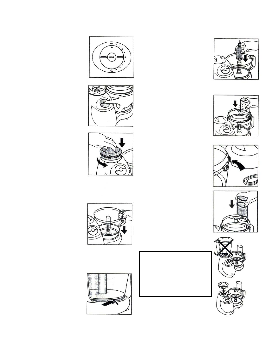 Instructions For Use Bravetti Food Processor With Blender Bp100