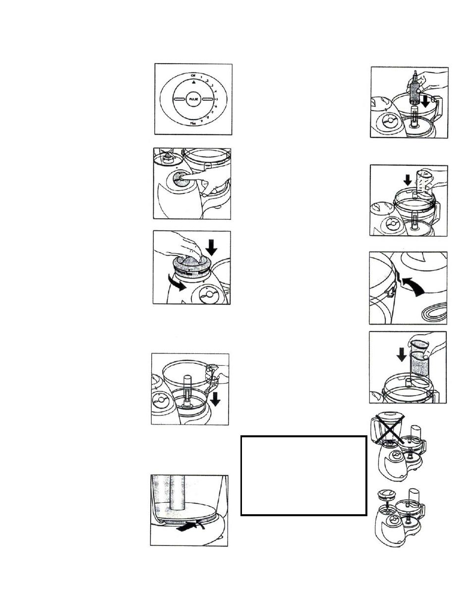 instructions for use bravetti food processor with blender bp100 rh manualsdir com kitchenaid artisan blender instruction manual osterizer blender instruction manual