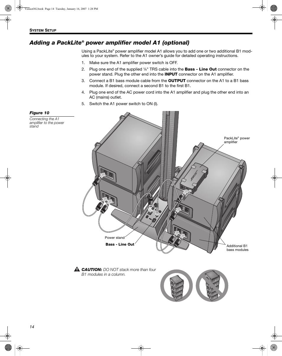 Bose l1 model ii portable line array pa b1 bass modules.