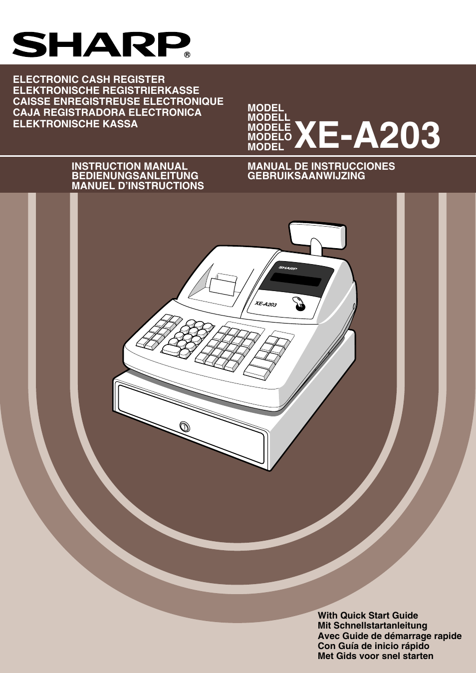 sharp xe a203 user manual 454 pages original mode rh manualsdir com sharp xe-a203 service manual sharp xe-a203 instruction manual