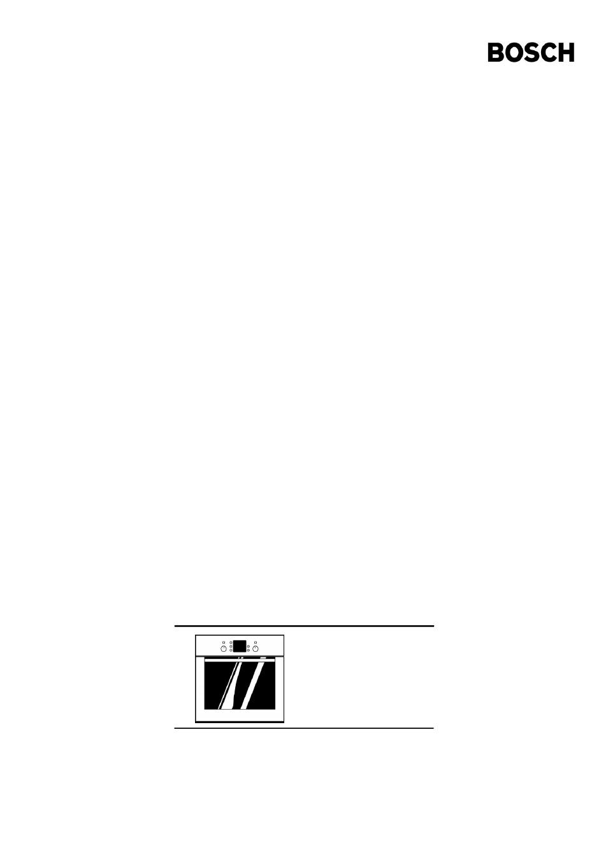 bosch hbn 2302 0 a user manual 44 pages rh manualsdir com bosch hbn 231 manual bosch hbn 5450 manual