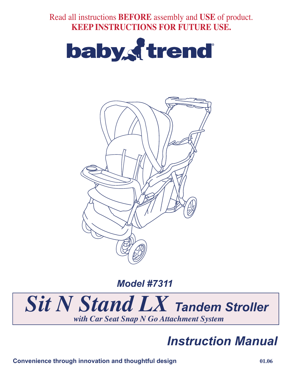 baby trend 7311 user manual 19 pages also for 7311lx sit n 39 stand lx stroller chatham. Black Bedroom Furniture Sets. Home Design Ideas